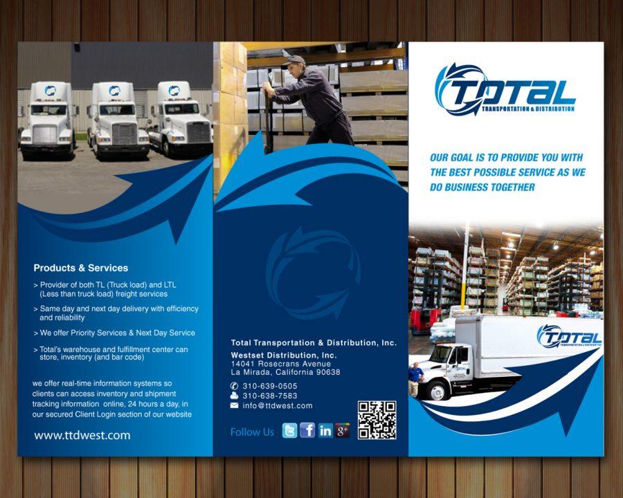 Company Profile Perusahaan Transportasi Kargo Logistik Untuk Didownload