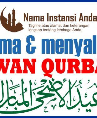 Download Banner Qurban Spanduk Iedul Adha 1438 2017 Gratis 9 Desain