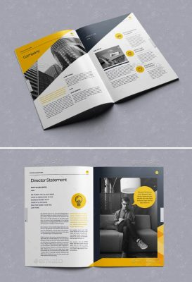 Company Profile Design Templates