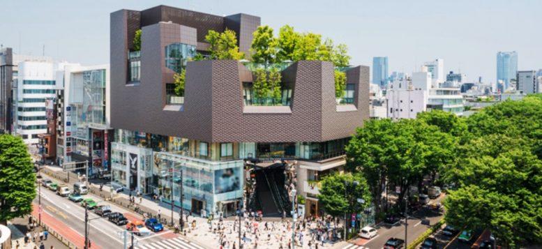 Gedung Unik di Tokyo