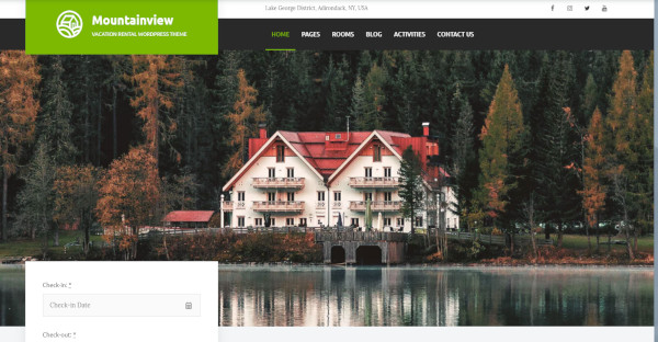 Booking Rental Website Templates