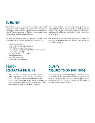 Template Company Profile Konsultan